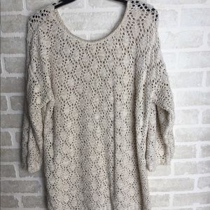 Over sized  plus size sweater . 1x 2x